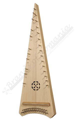 Alto Psaltery ethno musical instrument