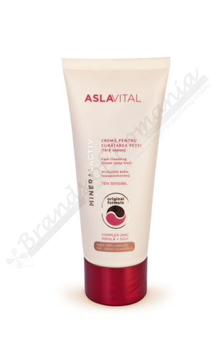ASLAVITAL MINERALACTIV face cleansing cream soap free