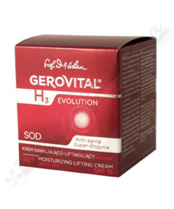 Gerovital H3 Evolution Moisturizing Lifting Cream SPF 15