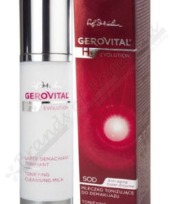 Gerovital H3 Evolution Tonifying cleansing milk