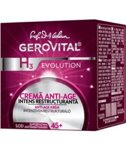 Gerovital H3 Evolution Anti-ageing cream, intensive restructurating-Farmec.