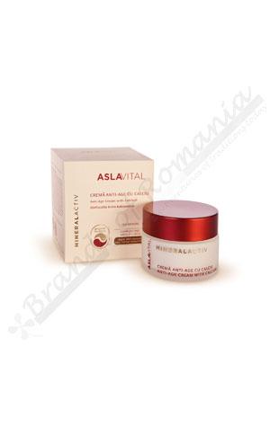 Aslavital Mineralactiv Anti-age cream with calcium