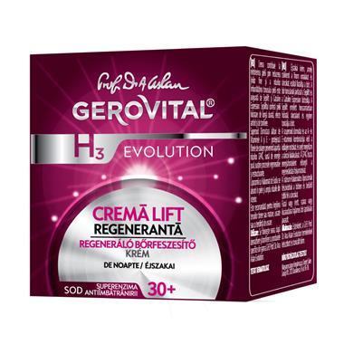 Gerovital H3 Evolution Regenerating Lifting Night Cream.