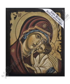 The Virgin with Child handmade Icon Painting