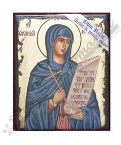 Saint Paraskeva of the Balkans handmade Icon Painting, on wood