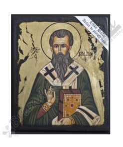 St. Hierarch Basil the Great handmade Icon Painting, on wood