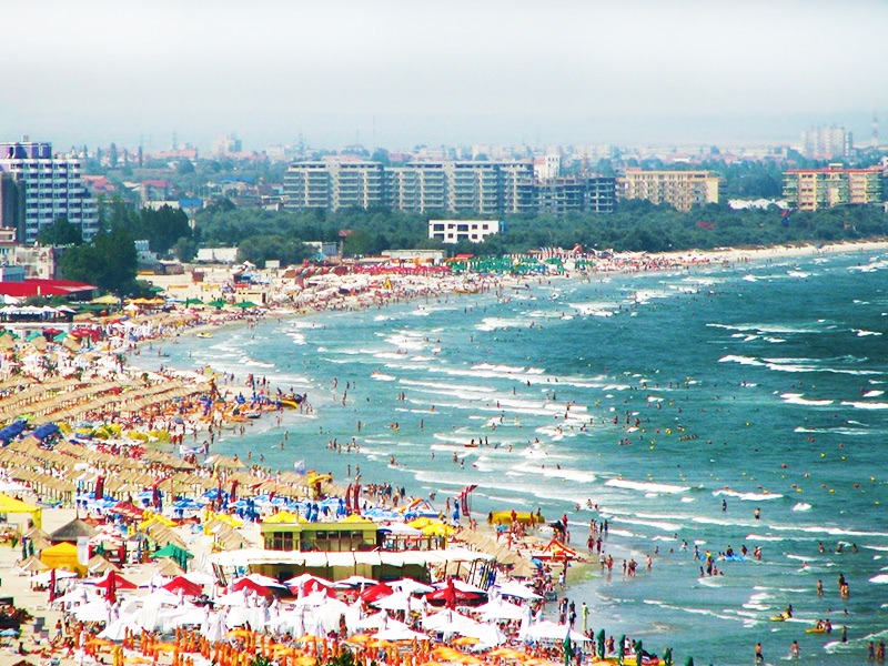 Romanian seaside resorts