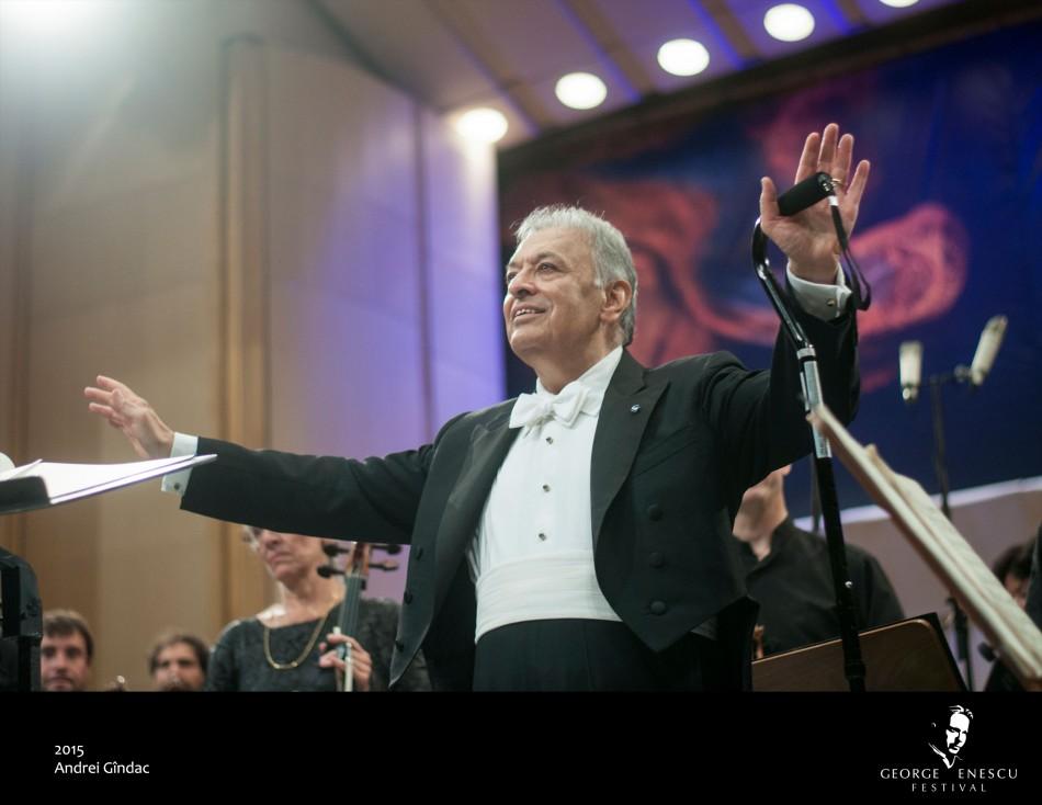 Maestro Zubin Mehta, Honorary President of the George Enescu International Festival 2017