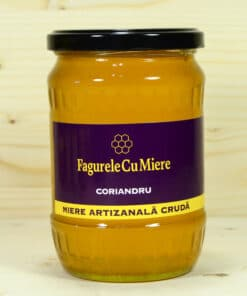 Row Coriander Honey 100% natural, BIO, 750g