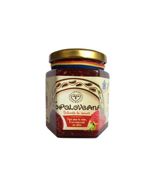 Topoloveni Raspberry Gourmet Confiture - Brands of Romania