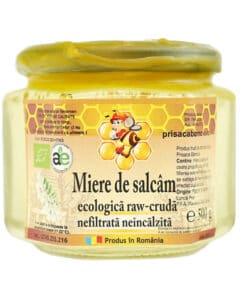 Prisaca Barnova Organic Acacia Honey 500g.